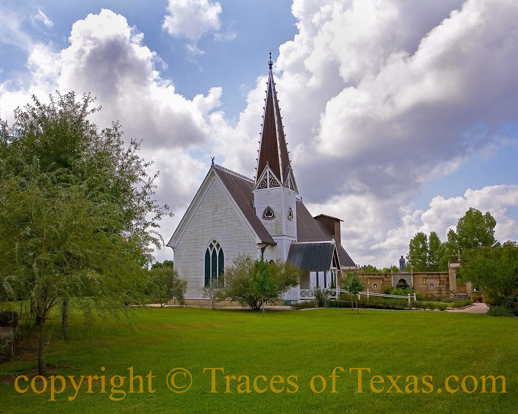Title:   He Stopped Loving her Today<br /> <br /> Comments: And they carried him away. <br /> <br /> Location: Round Top, Texas