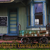 Title:   Stars Have Been Abandoned<br /> <br /> Comments: The trains no longer come to the old train station in Coupland. All that remains are a few relics to remind us of how it used to be. <br /> <br /> Location: Coupland