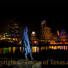 Title: The Sky is Cryin'<br /> <br /> Comments:  Late last night in Austin.  The ghost of Stevie Ray Vaughan stands watch.  Shivers.<br /> <br /> Location: Austin