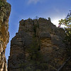 Title:   Devils Hall <br /> <br /> Comments: The rock formations in the Guadalupes are beyond surreal. Imagine a tunnel several hundred yards long, 200 feet high, and about 10 feet wide.<br /> <br /> Location: Devils Hall, Guadalupe Mountains National Park