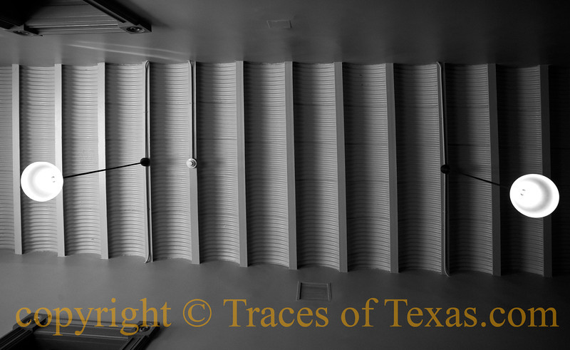 Title:   Bosque County Courthouse Architectural Details 1<br /> <br /> Comments: Interior architectural elements  of the beautiful Bosque County Courthouse <br /> <br /> Location: Meridian, Texas