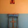 Title:   Prostrate Thyself<br /> <br /> Comments: Church interior<br /> <br /> Location: Terlingua