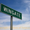 Title: Wingate <br /> <br /> Comments: Wingate is so small that you will miss it if you blink. It's about 25 miles southwest of Ovalo, in case you're looking for it. <br /> <br /> Location: Wingate