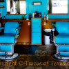 Title:  Through the Looking Glass<br /> <br /> Comments: The City Barbershop was closed when I showed up, so I took this through the window.<br /> <br /> Location: Crockett
