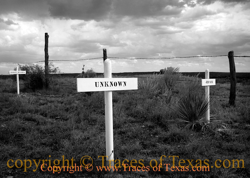Title:  Should I Die, Whereabouts unknowns, May a Warm  Texas Wind Blow All Over my Bones.<br /> <br /> Comments: <br /> <br /> Location: Old Tuscosa, Texas