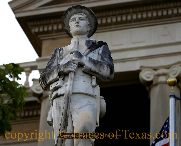 Title: Williamson County<br /> <br /> Comments: The Williamson County Courthouse is guarded by <br /> <br /> Location: Georgetown