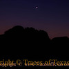 Title:   End of the Day <br /> <br /> Comments: In time, the sun went down and the natural, inherited wildness in the dark ran its eternal course.  I dozed, and woke thinking of you. <br /> <br /> Location: Big Bend National Park