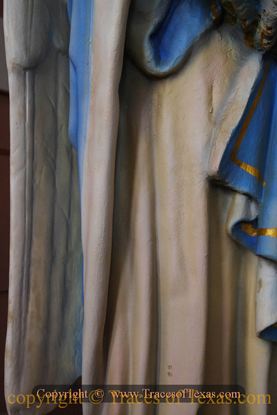 Title:   Her Robes<br /> <br /> Comments:  A statue in one of the famous painted churches.<br /> <br /> Location: