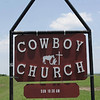 Title:   Cowboy Church<br /> <br /> Comments: The cowboy church is very accommodating. You ride up on your horse and hear the word. They even have special ushers to clean up any accidents.<br /> <br /> Location: Thrall, Texas