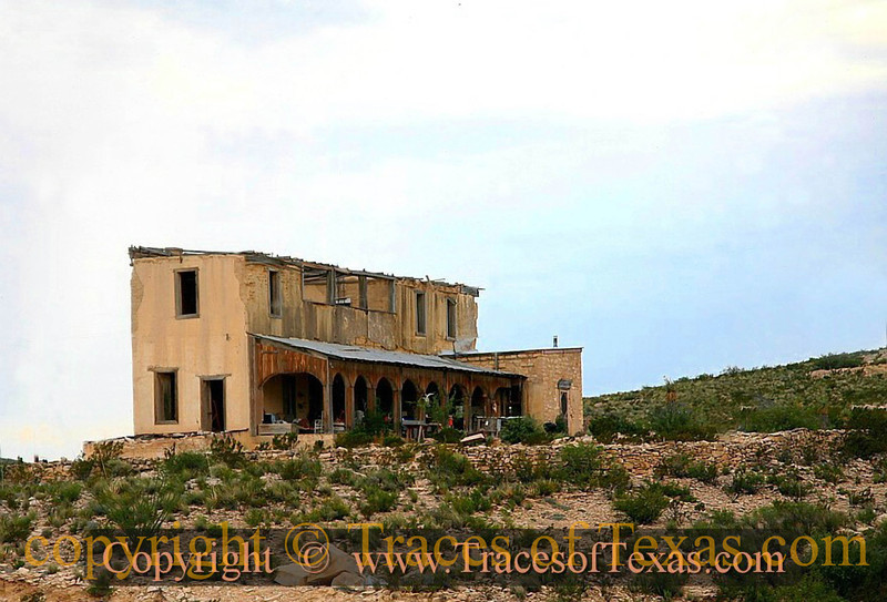 Title:   I Don't Know What This Building Is, but I Heard the Soundtrack from Psycho When I approached.<br /> <br /> Comments: <br /> <br /> Location: Terlingua