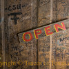 <br>Title:  The Door is Always Open in Luckenbach  Comments:  1,284,343   people have walked through this door, Willie and Waylon included.  Location: Lukenbach