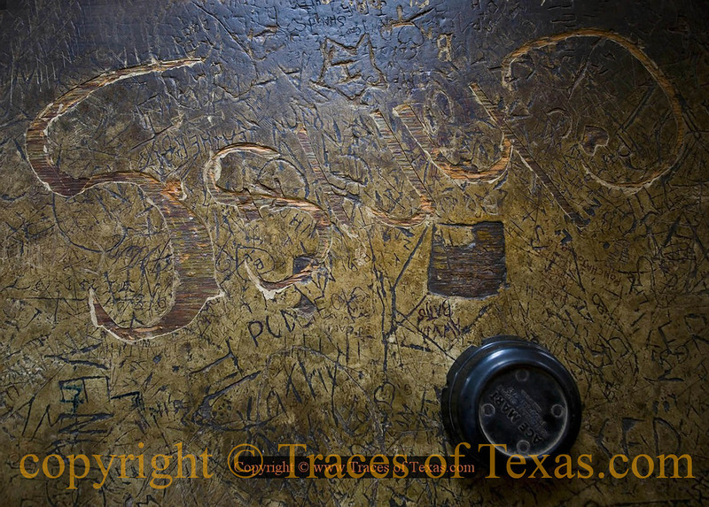 Title:   My Life Lived Out on Tabletop<br /> <br /> Comments: This old bar tabletop has seen a lot of celebrating.<br /> <br /> Location:  La Grange