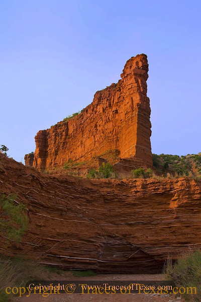 Title:   Sentinel <br /> <br /> Comments:  I prefer Caprock Canyon State Park to the much more famous Paloduro Canyon State Park. <br /> <br /> Location: Quitaque