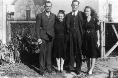 Edwin Chambers Vivian Horn Walton  C. Nan Sauls (L - R)