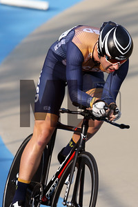 Philip Cutler of UC San Diego races at the USA Cycling Collegiate Track National Championships at Giordana Velodrome in Rock Hill, S.C., on Friday, Sept. 13, 2019.