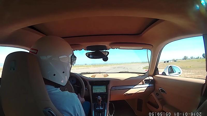 Lap at AMP 911 Carrera S 2016