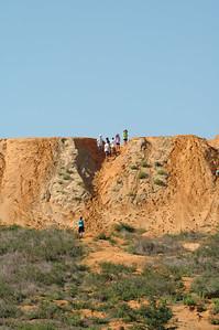A pile of dirt, a bunch of kids, who needs an adventure park?