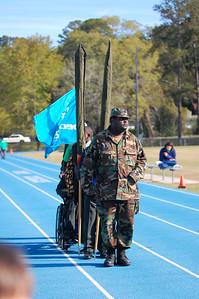 East Gadsden HS ROTC Color Guard