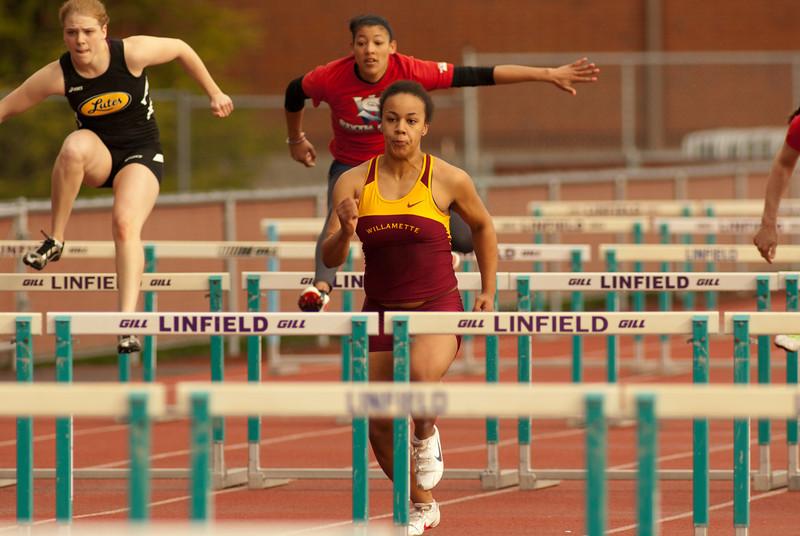 2011 Willamette Track & Field - Linfield Multi