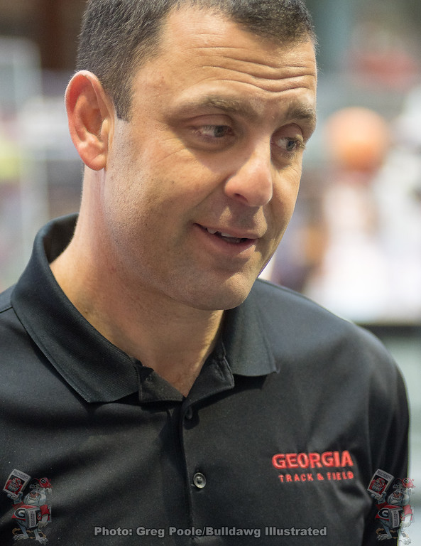 Petros Kyprianou – head coach UGA track and Field – March 12, 2018
