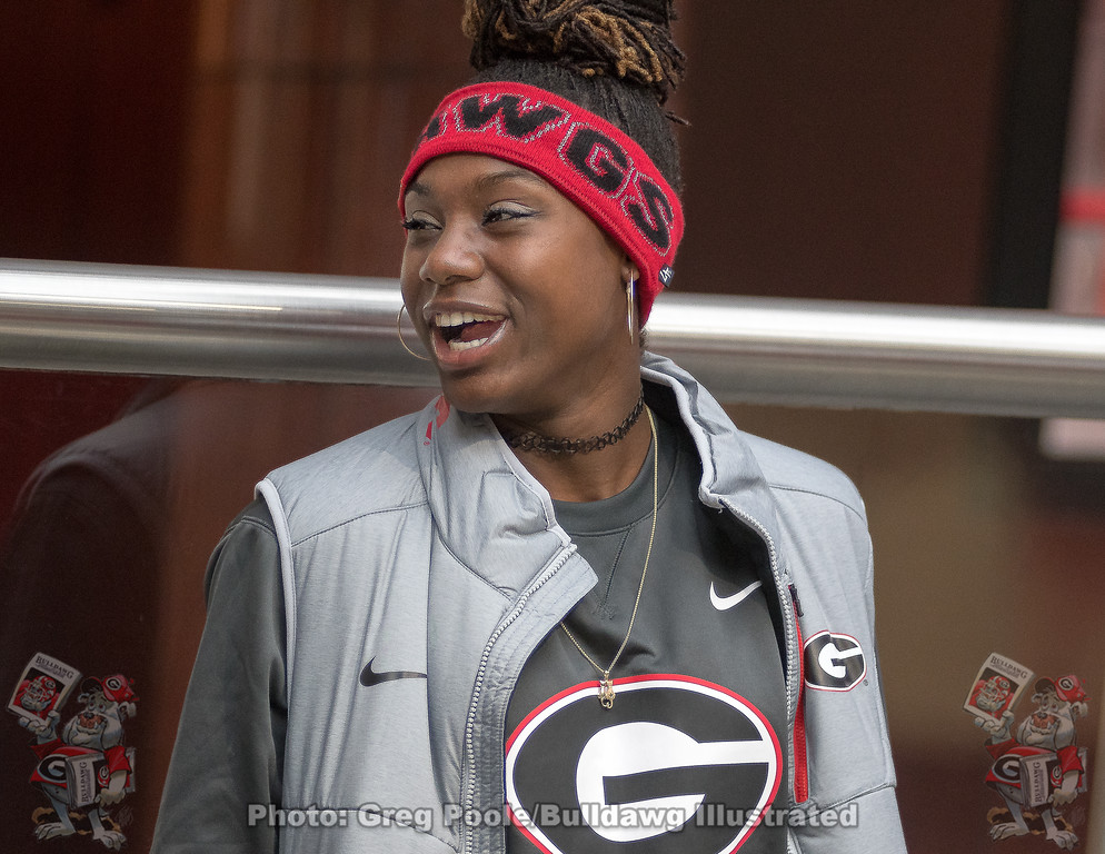 Lynna Irby – UGA Track & Field – March 12, 2018