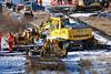 Hydrex <br /> <br /> Road Railer <br /> <br /> Liebherr A900<br /> <br /> Euro Number:: 940678-4 <br /> <br /> Fleet number:  6896 <br /> <br /> Gets ready to go on site