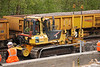 Komatsu D41P Bulldozer<br /> <br /> Fleet # 4726<br /> <br /> Euro # 914005-2<br /> <br /> reverses for another leveling run