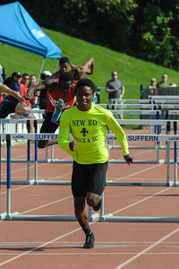 Section 1, Class A Championship 110 Meter Hurdles - 1st Place 14.56 - New Rochelle High School, Jessie Parson