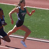 Alejandra Bruyere in the 200 at 2012 CIF finals