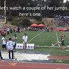 Maddy Hopson Long Jumping at the 2012 CIF finals... new school record of 17 feet 7 inches