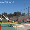 Lauren 3 tries at 10 feet