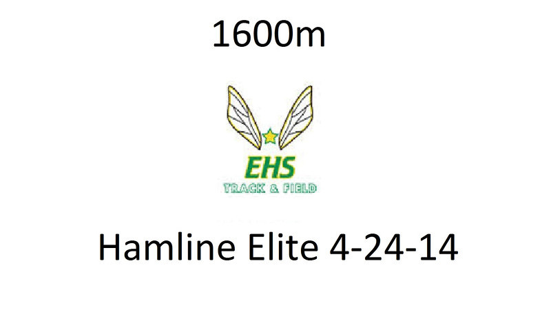 1600m Last two laps