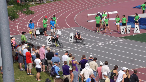 Wheelchair 100m