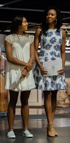 Alysah Getting Certificate for 1st Team