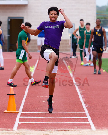 Alamo Relays - Long and Triple Jump