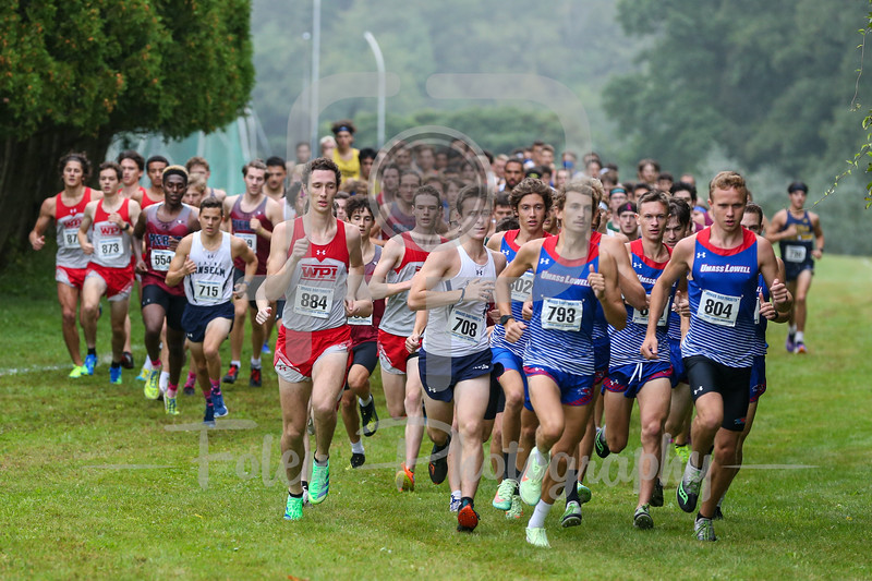 Sep. 18, 2021; Dartmouth, Massachusetts, USA;  during a meet held by UMass Dartmouth. RPI won the game 24-10 over WPI at Robert Dowd Cross Country Course. Photo by Foley-Photography.