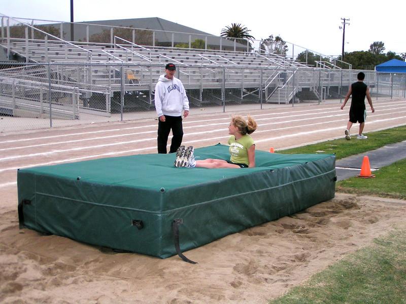 Danielle Eckert: Girls Pole Vault record holder 2005 - 2012 11 feet 3 inches