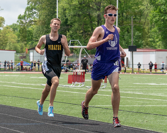Black River Russell Schultz placed second in the 1600 behind Triway Nich Michels Saturday May 19.  photo Joe Colon