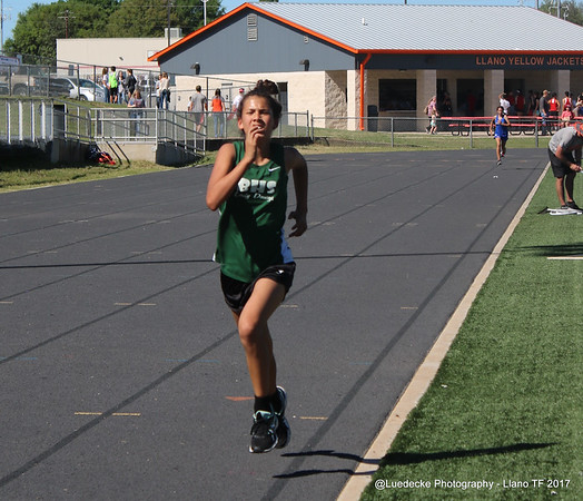 Burnet HS girls track @ Llano