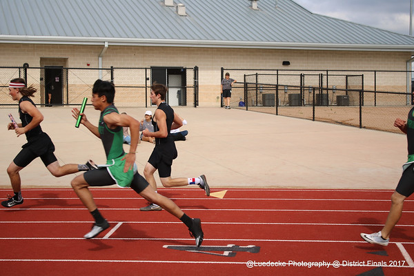 Burnet guys @ District finals
