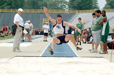 NCHSAA 1-A TRACK AND FIELD CHAMPIONSHIP, 2005