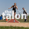 The Argyle Eagles compete in the Area Track meet. Area Track for the first district game at Decatur High School in Decatur , Texas, on April, 18, 2018. (Georgia Penn / The Talon News)