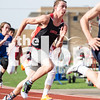 The Eagles attend the district track meet at Aubrey High School on April 9, 2015. (Photo by Annabel Thorpe/ The Talon News)
