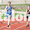 The Eagles compete in the district track meet at Aubrey High School on April 9, 2015. (Photo by Stacy Short/ The Talon News)