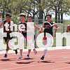 Track competes in the district meet at Porcupine Stadium in Springtown, Texas, on March 3, 2014. (Jordyn Tarrant/ The Talon News)