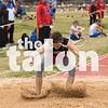 The Argyle Eagles compete in the district track meet at Springtown High School in Springtown, TX. April 3, 2019, (Georgia Penn / The Talon News)