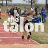 The Argyle Eagles compete in the district track meet at Springtown High School in Springtown, TX. April 3, 2019, (Georgia Penn / The Talon News)