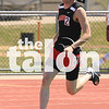 Track competes in the district meet at Porcupine Stadium in Springtown, Texas, on March 4, 2014. (Jordyn Tarrant/ The Talon News)