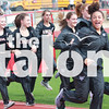 Eagle track competes in the AHS Invitational at <br /> Eagle Stadium, Argyle, Texas on March 8, 2018.  (Claire Burkett / The Talon News)