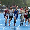 The start of one of the heats of the 1 miles at the meet held at Lunenburg Middle High School on Saturday afternoon. SENTINEL & ENTERPRISE/JOHN LOVE